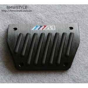 Накладки на педалі BMW в М-стилі E30 E32 E34 E36 E39 E46 E53 E84 E87 E90 E92 Black АКПП