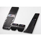 Накладки на педалі BMW в М-стилі E30 E32 E34 E36 E39 E46 E53 E84 E87 E90 E92 Black МКПП