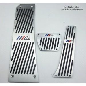 Накладки на педалі BMW в М-стилі F01 F06 F07 F10 F12 F13 F18 F25 F26